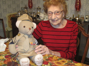 WWII vet served in  Women's Army Corps
