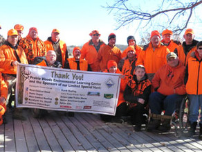 Special hunt thrilling for participants, volunteers