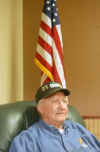 Van Karg is a Vietnam veteran who was wounded during the war.  Contributed photos