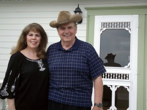 Lee and Carol Roisum have moved back to the farm homesteaded by his great-grandparents near Sunburg. The two enjoyed musical careers which allowed them to travel the world. Photo by Arlene Quam