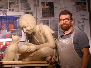New Ulm sculptor brings local legend to life