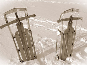 Northern Days Gone By: Clinkers couldn't  corrupt our sledding