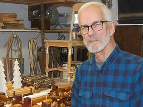 Finding joy  making wooden toys