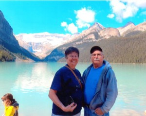 Right, Gloria and Dean in Alaska. Contributed photo
