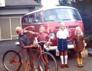 Red-VW-&-Family