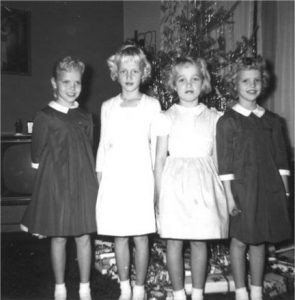 My cousins at Christmas Eve in 1960. Contributed photo