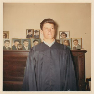 Fred Walter as a graduate.  Contributed photo