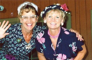 Tina and Lena (Ann and Annette) have been entertaining since 1984. The duo met in the 1960s in algebra class in Canby. Contributed photo