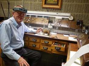 A man's passion for reviving classic clocks