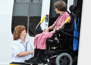 CCT buses are handicap accessible and are available to any person, old or young, any time of the day.  Contributed photo