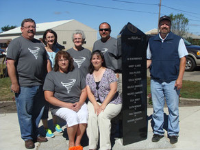 Tracy residents honor victims with monument