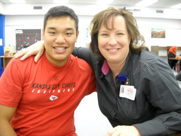 Big Sister Julie Hentges and Little Brother Kevin Cao