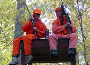 Just a Kid at Heart: Taking deer hunting to new heights
