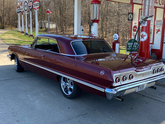 The Chevy Impala SS as it looked right after it was restored by Mark Burns. The vehicle was entered into three car shows and received the people's choice award at all three shows. Contributed photo