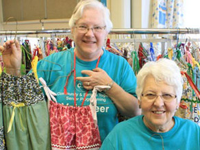 Making dresses and a difference