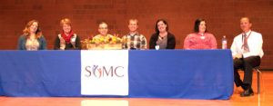 A special provider panel, gives people an opportunity to ask questions an get answers directly from the providers at SCMC. Contributed photo was taken at last year's event.