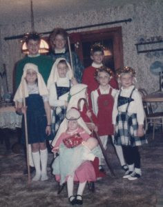 My cousins on Christmas Eve in 1965. Contributed photos