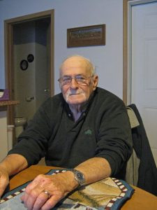 Leo Wenner has driven school bus in Royalton since 1959. He drove the grandparents of some of his current passengers to school. Photo by Jennie Zeitler