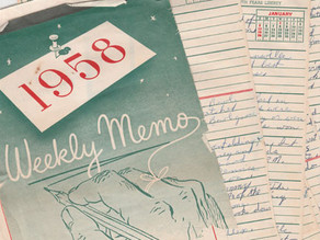 Boomer's Journal: Sixty years ago