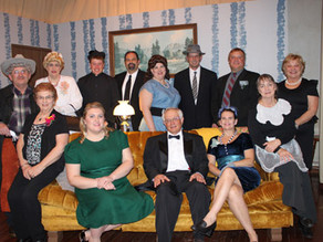 Theater group honors cast from 1944 play
