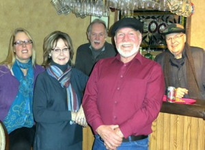 Mikko & Friends includes (L to R) Michelle Wencl, Anne O'Flynn, Chuck Wencl, Mikko Cowdery and Doug Tatge. Contributed photo