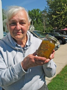 Ruth Krause, of Tintah, has been canning around 40 years, but admits she was a novice when she married her farmer-husband Bob in 1966. Through phone calls to her mother-in-law and Bob's aunt, Ruth learned the art of food preservation. Bob joined Ruth in canning their garden's bounty seven years ago, and together, they plant, nurture and harvest the produce which they can and freeze.