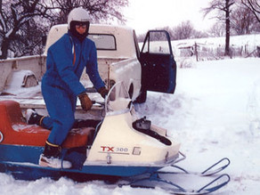 Boomer's Journal: Snowmobile capital of the world