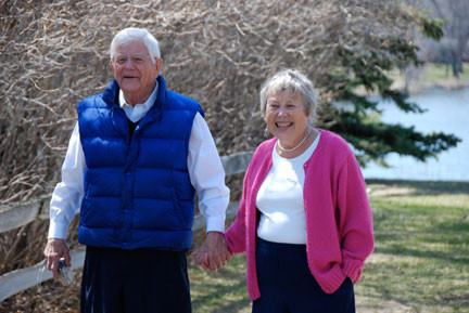 Bill and Josie Heegaard, of Alexandria, remained active well into their 80s. The two were cared for by Alternative Senior Care in their final months and were able to stay in their home right up until they passed away earlier this year. Photo contributed by the Heegaard family