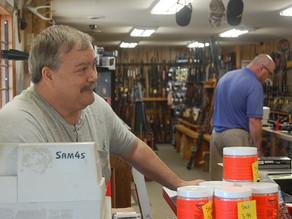 Gun sales, service hit target at Little Crow