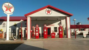 """Wally Kill's """"service station"""" located near Morris has everything but the fuel. Contributed photo"""