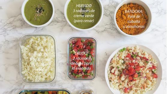 ¿Qué es el Batch Cooking? ¿Cuántos días duran en la nevera?