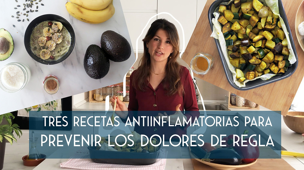 VÍDEO YOUTUBE TRES RECETAS ANTIINFLAMATORIAS