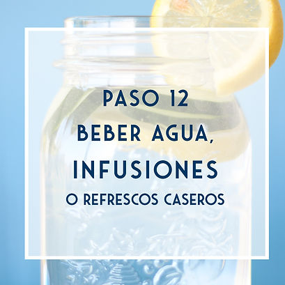 POST - Agua, refrescos e infusiones