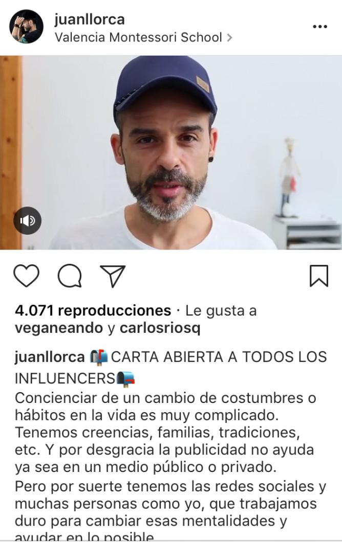 Vídeo Juan Llorca