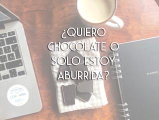 Como evitar o sobrepasar los atracones por el chocolate