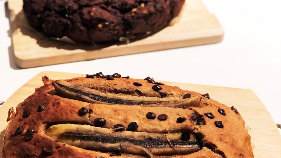 CAKE PARTY | Pasteles saludables - Cheesecake, Chocolate y Plátano