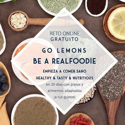 Reto Go Lemons Realfoodie _ Lemon's Secr