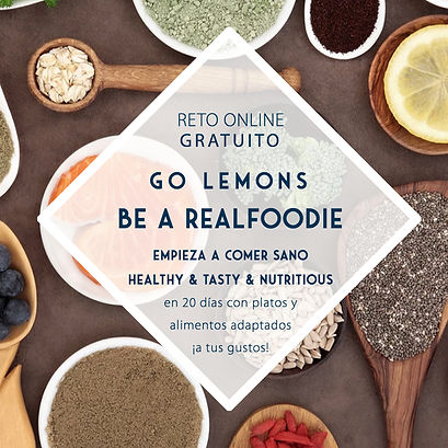 Reto Go Lemons Realfoodie _ Lemon's Secrets _