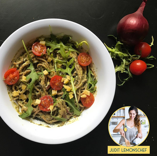 Espaguetti al pesto | LemonsCHEF