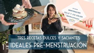 Recetas para evitar los atracones pre-menstruales | Dulces y saladas