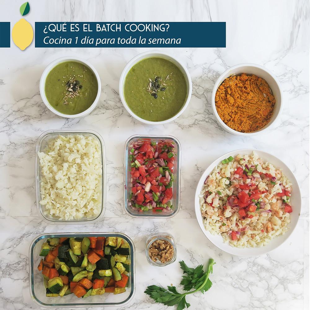 ¿Qué es el Batch Cooking?
