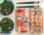 Sushi fusión mediterránea