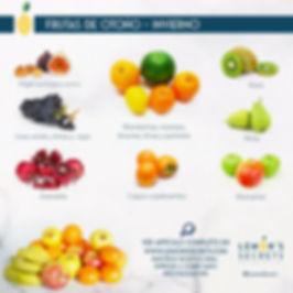 Frutas de Otoño - Invierno | Lemon' Secrets | Infografía