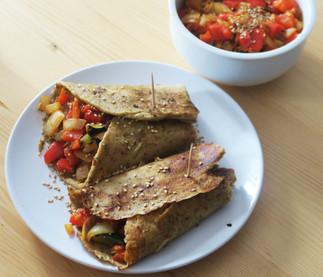 Vegan protein burrito