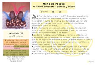 Mona de pascua | Pastel de chocolate