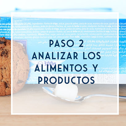 Analizar los alimentos y productos