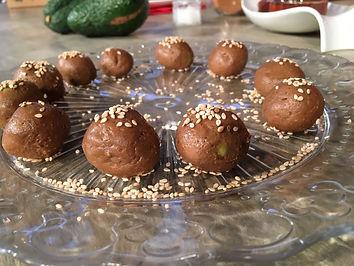 Bombones de chocolate e higos