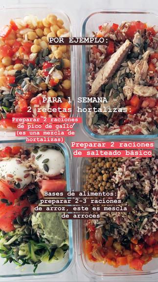 3 consejos para preparar tus comidas y ahorrarte tiempo en la cocina