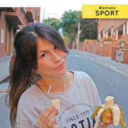 ¡Antes de hacer deporte!