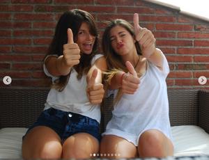 Mireia (22) y Judit (20)